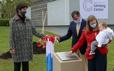 Un cerisier pour Prince Charles de Luxembourg