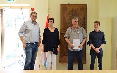 Signature de la charte COPIL