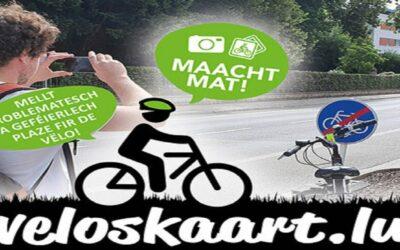Le nouveau projet veloskaart.lu du Méco
