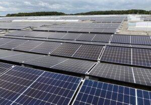Inauguration d'une installation photovoltaïque chez Kuehne+Nagel