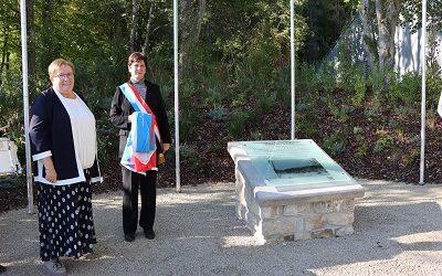 Inauguration du monument «Am Wëllemslach»